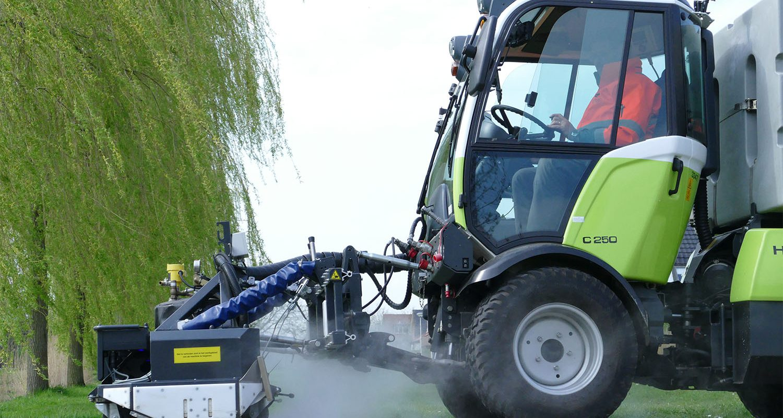 Header training machinist onkruidbestrijding