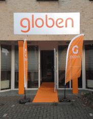 Pand IJsselstein van uitzendbureau Globen
